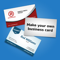 1000 Business Cards with UV coating